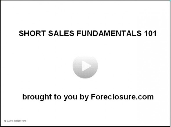Free Short Sales training for Agents [video]