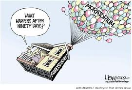 Foreclosure Moratorium cartoon